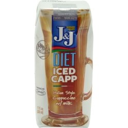 J&J Diet Iced Cappuccino