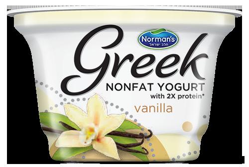 Norman's Greek Non-Fat Yogurt 6 oz Vanilla