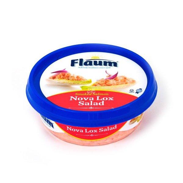 Flaum Smoked Salmon Nova Lox Salad