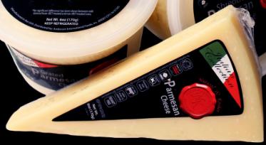 Parmesan Cheese Wedge 6oz - Natural and Kosher