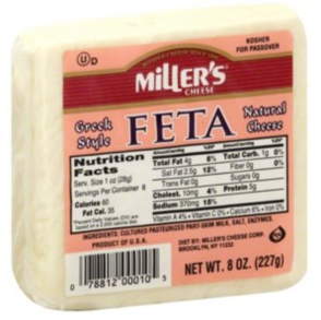 Feta Cheese - Miller's