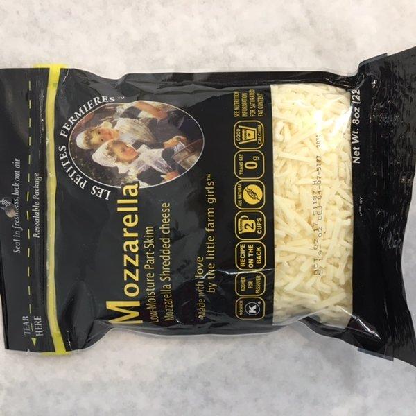 Mozzarella Cheese Shredded 8oz - Natural & Kosher