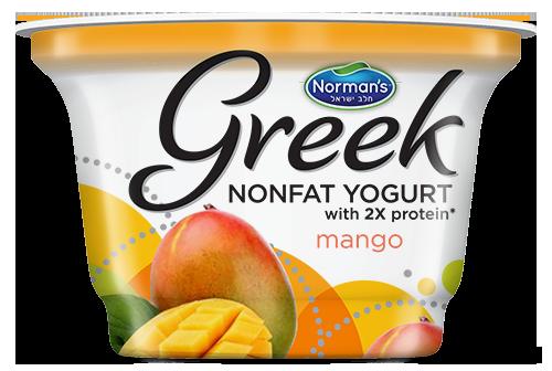 Norman's Greek Non-Fat Yogurt 6 oz Mango