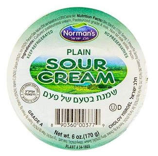 Norman's Sour Cream - Plain