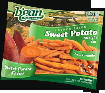 Fries - B'Gan Sweet Potato