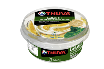 Tnuva Labneh Spread Za'atar Seasoning & Olive Oil