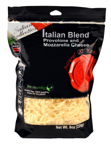Italian Blend Cheese Shredded - Natural & Kosher