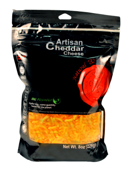 Cheddar Cheese Shredded - Natural & Kosher