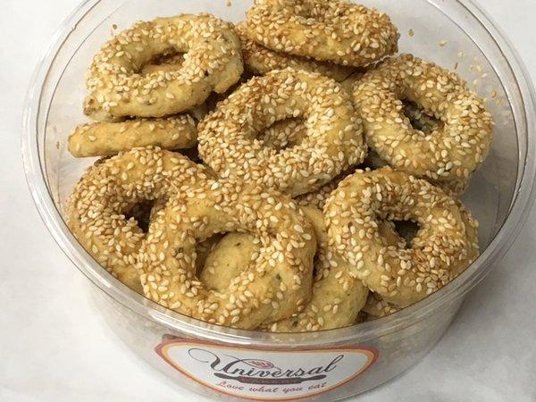 Universal Bakery Salted Bagel Cookies 12oz