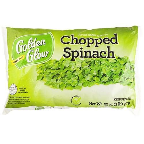 Golden Glow Chopped Spinach