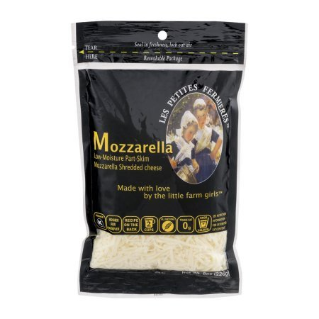 Mozzarella Cheese Shredded - Les Petites Fermieres