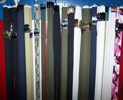 DRESS BELTS, 54 INCH LENGTH