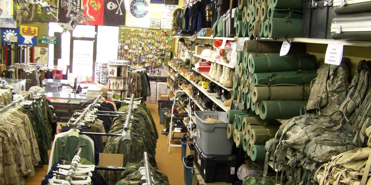 Image result for Military Surplus Store