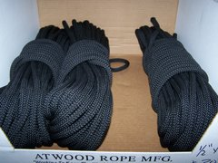 UTILITY ROPE, 1/2 INCH X 100 FOOT, U.S. MADE *NEW*