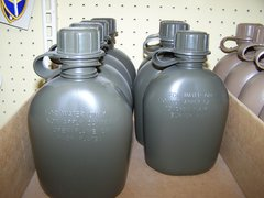CANTEEN, 1 QUART, OD GREEN