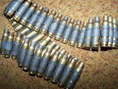 7.62MM / .308 LINKED BRASS, 50 ROUNDS
