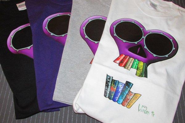 Voodoostx Skull t-shirts