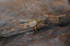 Natural Diamond- 18k Gold