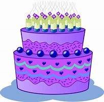 Blackberry Birthday Cake Quarter Pounder