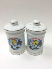 Alabama Ceramic Salt & Pepper Shaker
