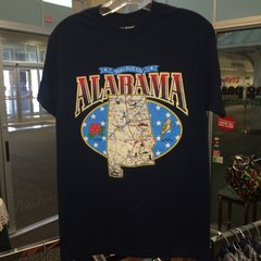 Alabama Map Shirt