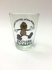 Dothan Souvenir Peanut Capital Shot Glass