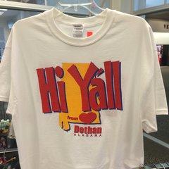 Dothan Hi Y'all Bye Y'all T-Shirt