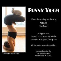 Bunny Yoga - August 4, 2018