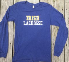 Irish Lacrosse Long Sleeve Super Soft Shirt