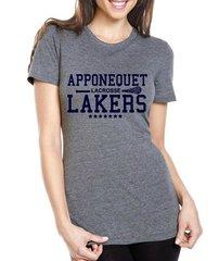 Apponequet Girls Lacrosse Triblend T-shirt