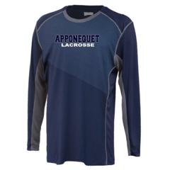 Apponequet Boys Lacrosse Long Sleeve tech Tee (blade)