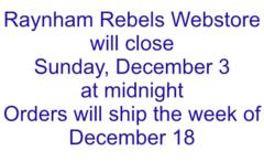Raynham Rebels Store Details