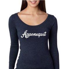 Apponequet Ladies Triblend Super Soft Long Sleeve Shirt