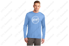 got net? Long Sleeve Wicking Shooting Shirt