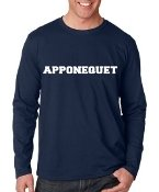 Apponequet Wicking Shirt Navy or White