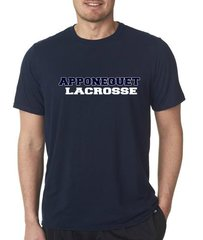Apponequet Boys Lacrosse Tech Tee (Navy)