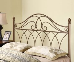 BROWN FINISH QUEEN/FULL HEADBOARD