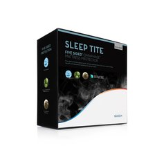 MALOUF FIVE SIDED WITH TENCEL OMNIPHASE MATTRESS PROTECTOR