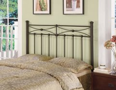 RUSTIC METAL QUEEN/FULL HEADBOARD