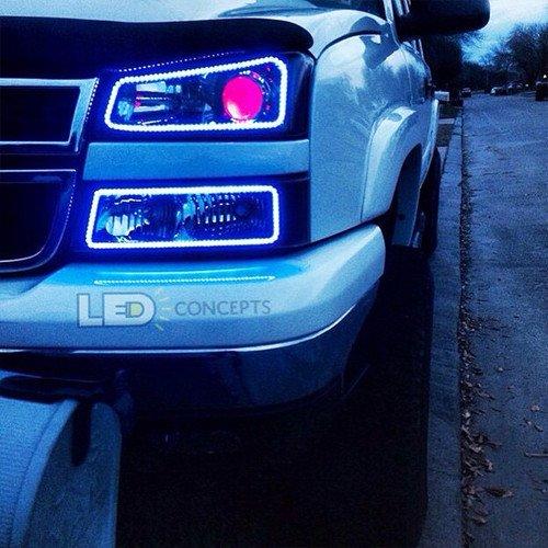 Chevrolet Silverado 03 06 Profile Prism Fitted Halos