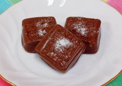 Salted Milk Caramel Square