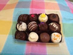12 Assorted Truffles Gift Box