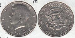 1980 KENNEDY HALF DOLLAR