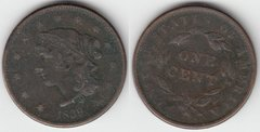 1839 LARGE CENT