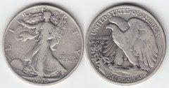 1938D L. W. HALF DOLLAR