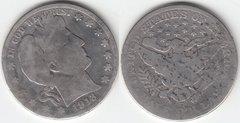 1913D BARBER HALF DOLLAR