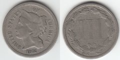 1872 THREE CENT NICKEL