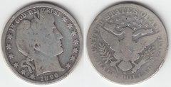 1896O BARBER HALF DOLLAR