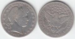 1908D BARBER HALF DOLLAR