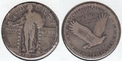 1927D LIBERTY STANDING QUARTER